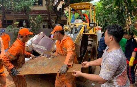 BPRD Normalisasi Permukiman Warga Korban Banjir