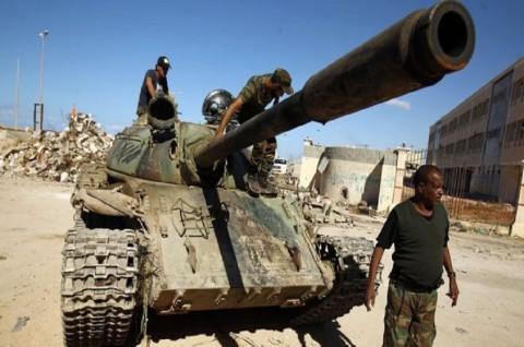 Pemberontak Libya Klaim Telah Rebut Kota Sirte
