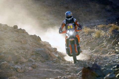 Ross Branch Beri Kejutan di Etape-2 Dakar Rally