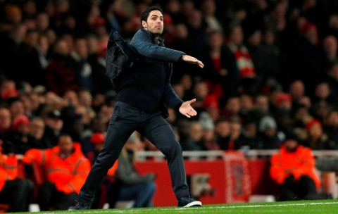 Arteta Kesal Lihat Permainan Arsenal di Babak Pertama