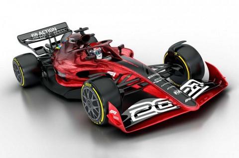 Peraturan dan Desain Baru Mobil F1 Musim 2021