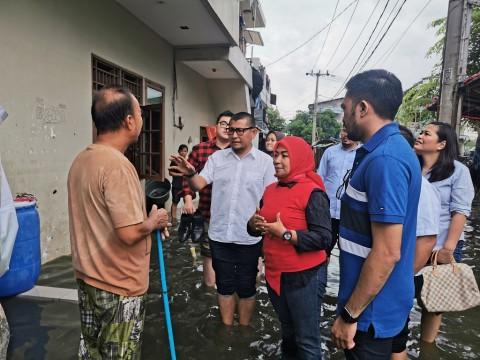 Pompa Tak Beroperasi, Banjir di Semanan Belum Surut