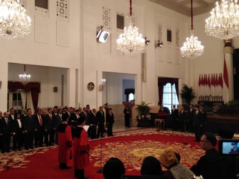 Daniel dan Surhartoyo Sah Jadi Hakim Konstitusi