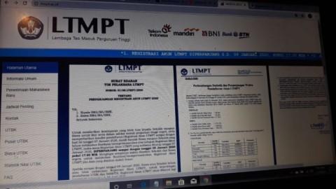 Finalisasi Akun LTMPT:  Yogyakarta Tertinggi, Sulbar Terendah