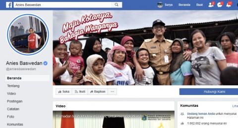 Warganet Protes Kena Auto Like Fanpage Anies
