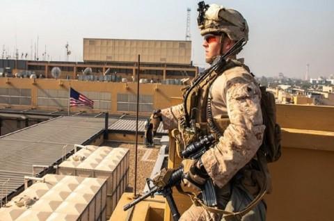 Belasan Misil Iran Hantam Pangkalan AS di Irak