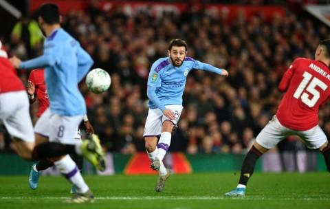 Bernardo Silva: City Bisa Cetak Lima Gol ke Gawang United