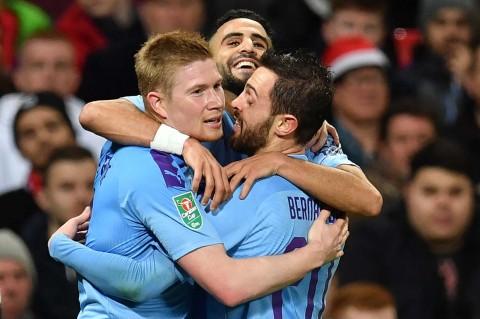 Man City Libas MU 3-1 di Old Trafford