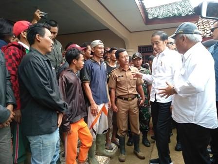 Kerja Nyata Jokowi Tangani Pascabanjir Bogor dan Lebak Diapresiasi