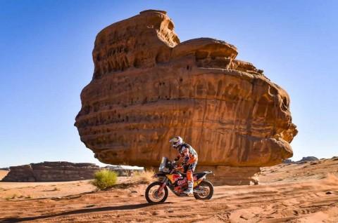 Trek Yordania di Etape-3 Dakar Rally, Ricky Brabec Bintangnya