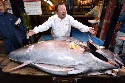 'King Tuna' Jepang Beli Tangkapan Tahun Baru Senilai Rp25 M