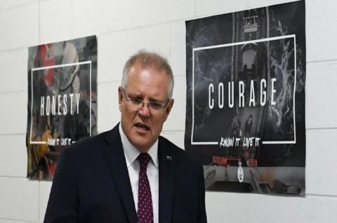PM Morrison Bertekad Lindungi Pasukan Australia di Irak