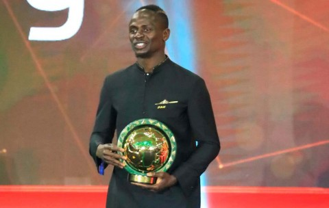Akhiri Dominasi Salah, Mane Sabet Penghargaan Pemain Terbaik Afrika 2019