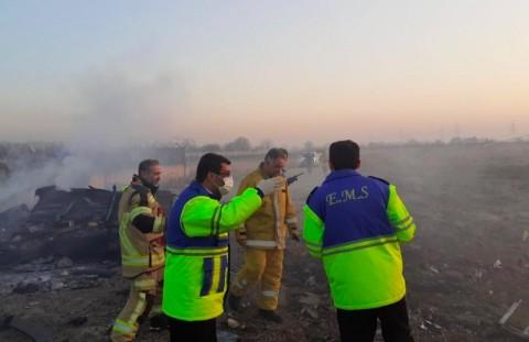 Pejabat Iran: 176 Penumpang Pesawat Ukraina Tewas