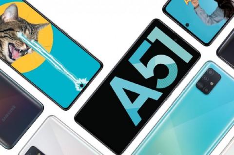 Samsung Siapkan Pemesanan Galaxy A51 Bareng Blackpink