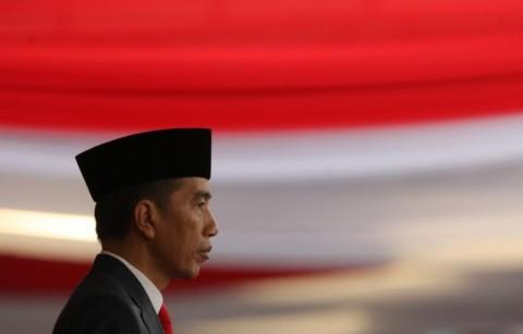 Jokowi Visits Natuna