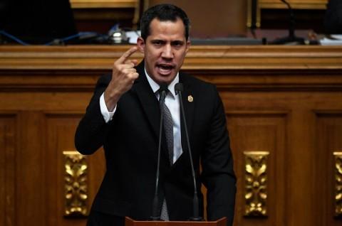 Terobos Parlemen, Guaido Dilantik Jadi Ketua Majelis Nasional