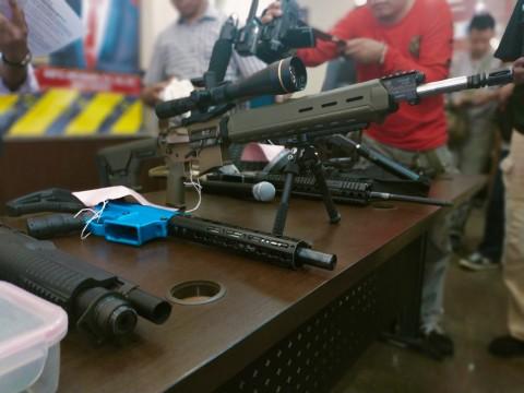 Penjual Senjata kepada Pengemudi Koboi Dibekuk