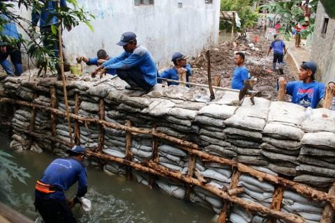 Kementerian PUPR Diminta Bantu Tangani Tanggul Jebol