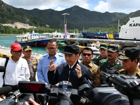 Jokowi: Kedaulatan Negara di Natuna Tak Bisa Ditawar Pihak Manapun