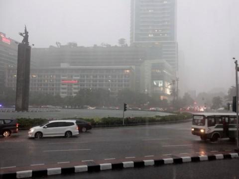 Hujan Sepanjang Hari di Jakarta
