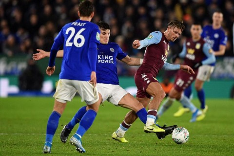 Leicester Ditahan Imbang Aston Villa