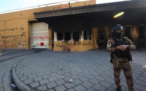 Dua Roket Kembali Hantam Zona Hijau di Baghdad