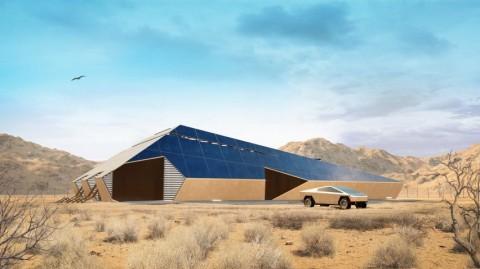 Cyberhouse, Hunian yang Terinspirasi Mobil Listrik Tesla