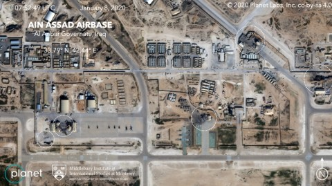 Kerusakan Luas di Pangkalan AS Usai Serangan Iran