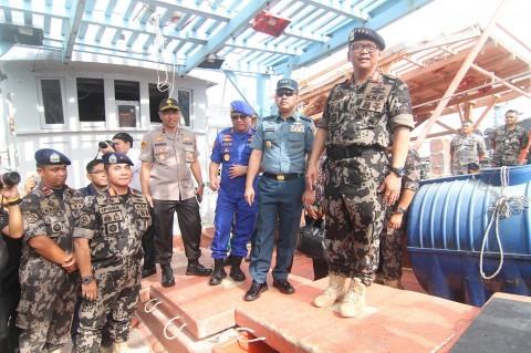 Dirjen KKP Tangkap Tiga Kapal Vietnam di Laut Natuna Utara