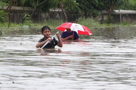 Empat Orang di Tangsel Meninggal Saat Banjir Awal Tahun