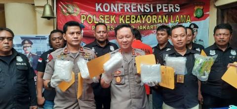 Pengiriman 5 Kg Sabu ke Jateng Terendus Polisi
