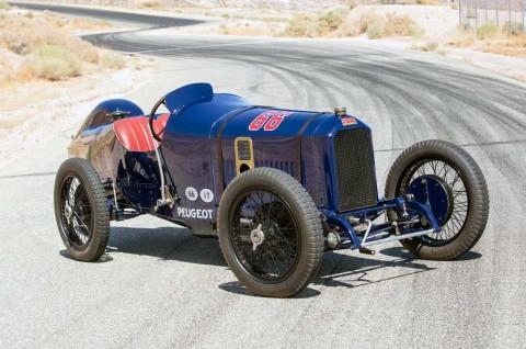Intip Mobil Balap Klasik Peugeot L45 Grand Prix