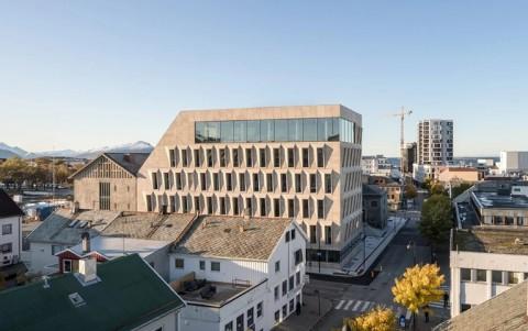 Kantor Balai Kota dengan Desain Minimalis