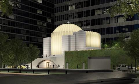 Pembangunan Gereja 'Korban' Serangan WTC Dilanjutkan