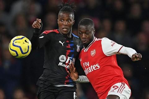 Hadapi Crystal Palace, Arsenal Waspadai Wilfried Zaha