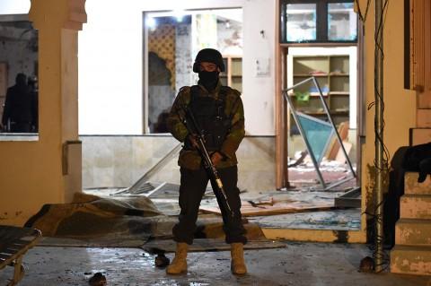 Bom Bunuh Diri Guncang Masjid di Pakistan, 15 Tewas
