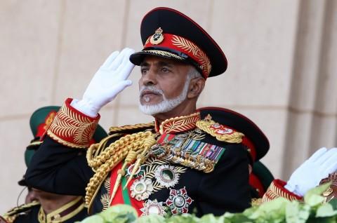 Sultan Oman Tutup Usia