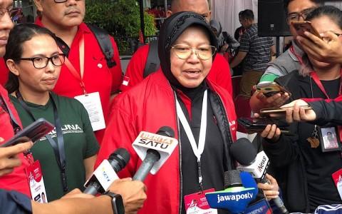 Risma Janji Menyejahterakan Masyarakat Surabaya
