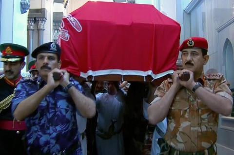 Sultan Qaboos Dimakamkan