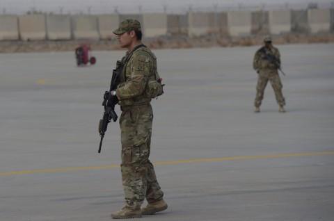 Kendaraan Militer AS Terkena Ledakan di Afghanistan