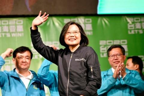 Tsai Ing-wen Kembali Terpilih sebagai Presiden Taiwan
