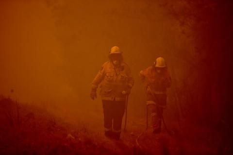 Petugas Pemadam Kembali Jadi Korban Kebakaran di Australia