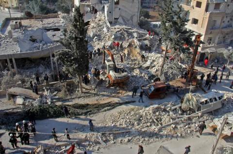 18 Warga Sipil Tewas dalam Serangan Udara di Idlib