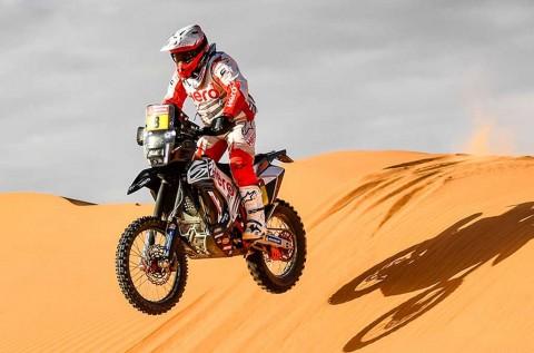 Paulo Goncalves Tewas di Dakar Rally Saudi Arabia