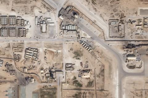Misil Hantam Pangkalan AS di Irak, 4 Prajurit Terluka