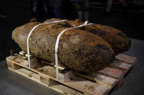 Jerman Amankan Dua Bom PD II di Dortmund