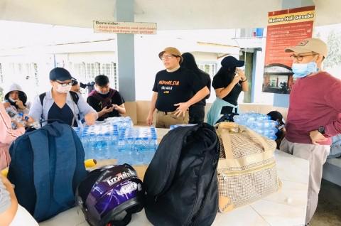 WNI di Sekitar Gunung Taal Filipina Diimbau Waspada