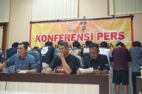 10 Remaja di Yogyakarta Ditangkap Saat Hendak Berbuat Klithih