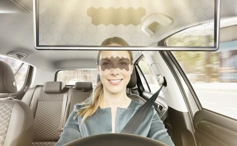 Bosch Bikin Sun Visor LCD Transparan